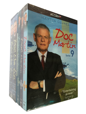 Doc Martin The Complete Series Seasons 1-9 DVD Box Set 24 Disc