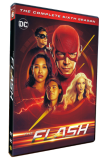 The Flash Season 6 DVD Box Set 5 Disc