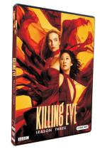 Killing Eve Season 3 DVD Box Set 3 Disc New