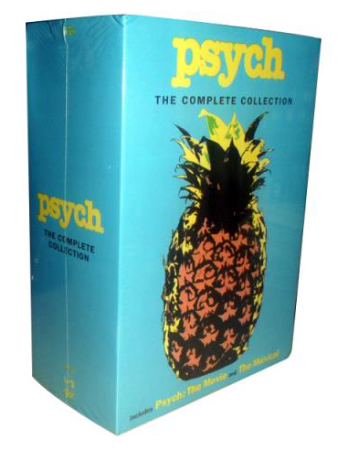 Psych The Complete Series Seasons 1-8 DVD 32 Disc Box Set