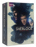 Sherlock The Complete Series Seasons 1-4 DVD Box Set 9 Discs