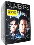 Numb3rs The Complete Series DVD Box Set 31 Discs