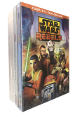 Star Wars Rebels Seasons 1-4 Collection DVD Box Set 14 Disc
