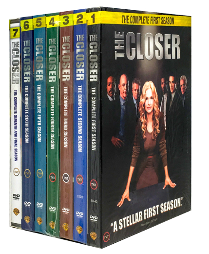 The Closer The Complete Series Seasons 1-7 28 Disc Box Set