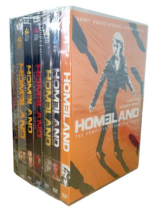 Homeland The Complete Seasons 1-8 DVD Box Set 32 Discs