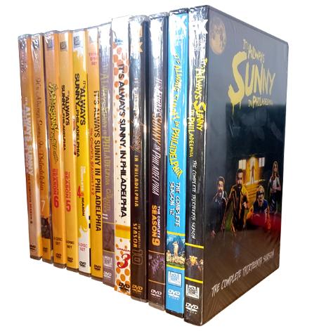 It's Always Sunny in Philadelphia Seasons 1-14 DVD 30 Disc Box Set