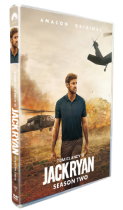 Tom Clancy's Jack Ryan Season 2 DVD Box Set 3 Disc