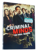Criminal Minds The Complete Fifteenth Seasons 15 DVD Box Set 3 Disc