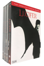 Lucifer The Complete Series Seasons 1-4 DVD Box Set 14 Disc