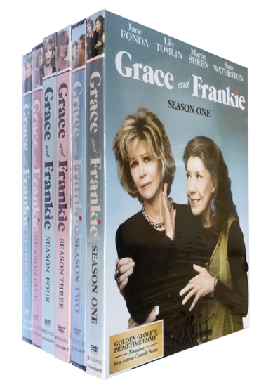 Grace and Frankie The Complete Seasons 1-6 DVD Box Set 18 Disc