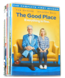The Good Place The Complete Seasons 1-4 DVD Box Set 8 Discs