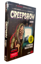 Creepshow The Complete Season 1 DVD Box Set 3 Discs