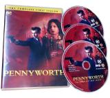 Pennyworth The Complete Frist Season 1 DVD Box Set 3 Discs