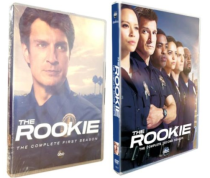 The Rookie The Complete Seasons 1,2 1-2 DVD Box Set 8 Discs