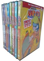 Naruto Uncut The Complete Series Seasons 1-4 DVD Box Set 48 Disc