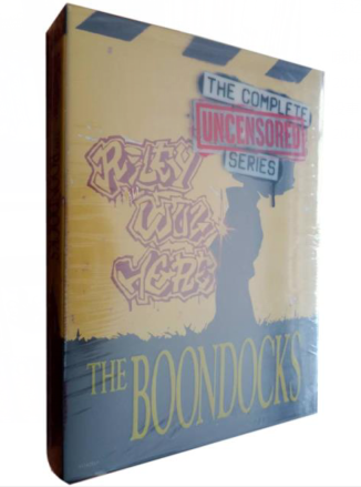 The Boondocks The Complete Seasons 1-4 DVD Box Set 11 Discs