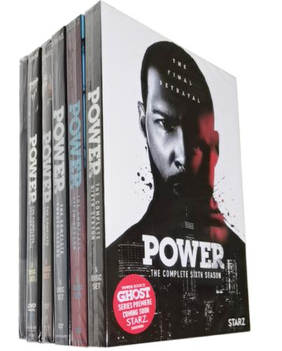 Power The Complete Seasons 1-6 DVD Box Set 19 Discs