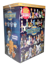 Digimon The Complete Series Seasons 1-4 DVD Box Set 32 Discs