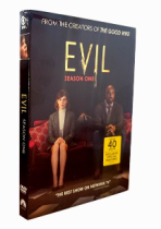 Evil The Frsit Season 1 DVD Box Set 3 Discs