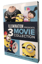 Illumination Presents 3 Movie DVD Box Set 3 Discs