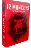 12 Monkeys The Complete Series Seasons 1-4 DVD Box Set 12 Disc