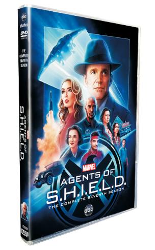 Agents of S.H.I.E.L.D. Season 7 DVD Box Set 3 Disc