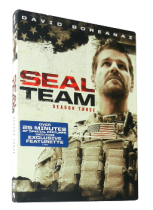 SEAL Team The Complete Season 3 DVD Box Set 5 Discs