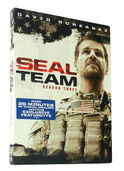 SEAL Team The Complete Season 3 DVD Box Set 5 Discs