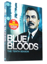Blue Bloods Season 10 DVD Box Set 4 Disc