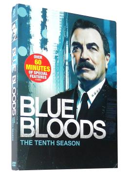Blue Bloods Season 10 DVD Box Set 4 Disc
