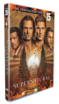 Supernatural The Complete Season 15 DVD 5 Disc Box Set