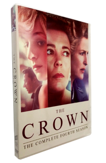 The Crown The Complete Season 4 DVD Box Set 3 Disc