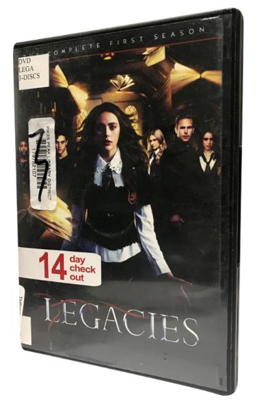 LEGACIES The Complete Frist Season 1 DVD Box Set 3 Discs