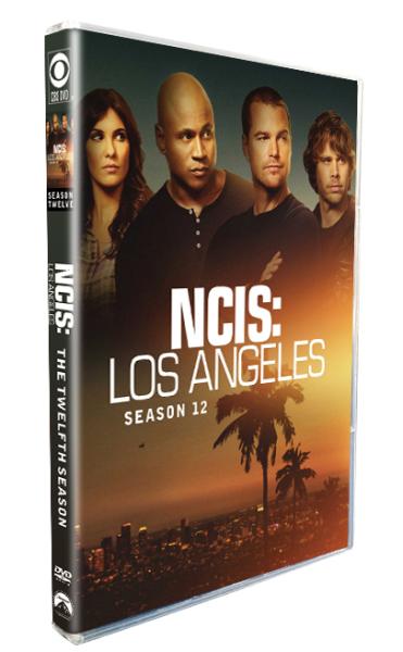 NCIS Los Angeles Season 12 DVD Box Set 5 Disc