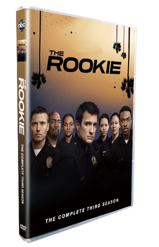 The Rookie The Complete Season 3 DVD Box Set 3 Disc