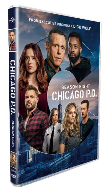 Chicago P.D. Season 8 DVD Box Set 4 Disc
