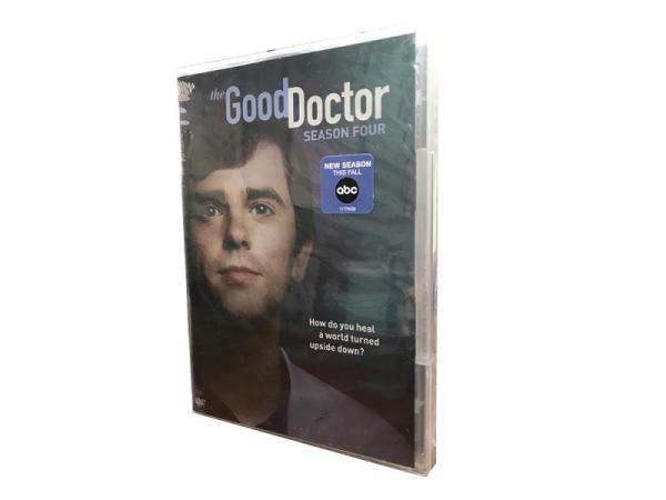 The Good Doctor Season 4 DVD Box Set 5 Disc