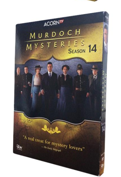 Murdoch Mysteries Season 14 DVD Box Set 3 DiscFree Shipping