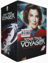 Star Trek Voyager The Complete Series Seasons 1-7 47 DVD Box Set