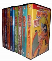 Naruto Uncut The Complete Series Seasons 1-4 DVD Box Set 48 Disc Free Shipping