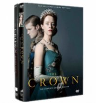 The Crown The Complete Series Seasons 1-2 DVD Box Set 6 Disc Free Shipping
