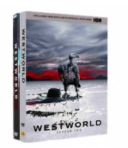 Westworld Seasons 1-2 DVD Box Set 7 Disc Free Shipping