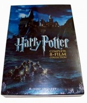 Harry Potter The Complete 8-Film Collection 8 Disc Set DVD Boxset Free Shipping