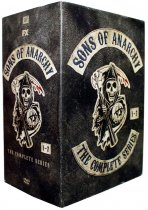 Sons of Anarchy The Complete Series Seasons 1-7 DVD Box Set 30 Disc Free Shipping
