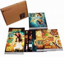Beachbody Country Heat Base+Country Heat Mash Up Workout Fitness 5 DVD Set
