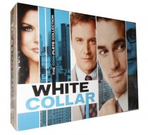 White Collar The Complete Series Seasons 1-6 22 Disc Set Box Set Free Shipping