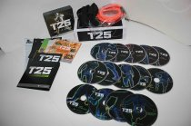 Shaunt's Focus T25 14 DVD Workout Alpha, Beta, Gamma + B-Lines Resistance