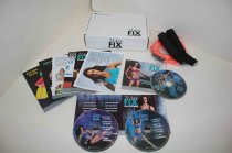 21 DAY FIX Extreme Beachbody Workout Fitness 3 DVD Plan and Nutrition Pull Rope Set