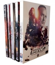 Marvel's Agents Of S.H.I.E.L.D. Seasons 1-6 DVD 28 Disc Box Set