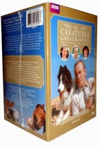 All Creatures Great and Small The Complete Collection DVD Seasons 1-7 28 Disc Set